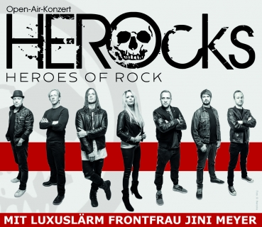 Eintrittskarte HEROcks - Open Air Konzert